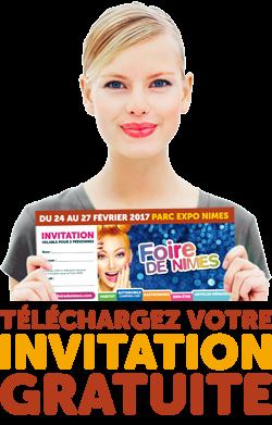 Foire de Nimes 2020 telechargement Invitation gratuite