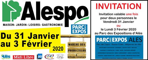 INVITATION-GRATUITE-ALESPO-VENDREDI-31-JANVIER-ET-LUNDI-3-FEVRIER-2020